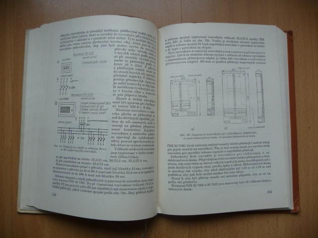 Domovní elektrické instalace - C. Macháček - 1958 - Knihy