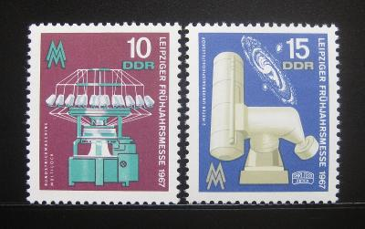 DDR 1967 Lipský veletrh Mi# 1254-55 0478