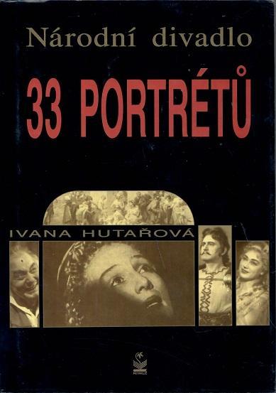 Národní divadlo 33 portrétů - Hutařová