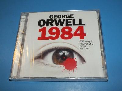 CD - George Orwell - 1984 -NOVÉ !!