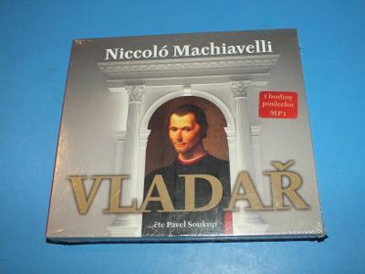 CD - Niccolo Machiavelli - Vladař - mp3 - NOVÉ