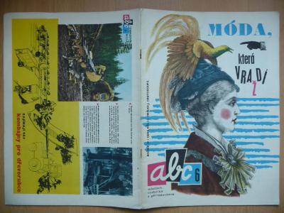 Časopis - ABC - 14. ročník z roku 1969 - číslo 6.
