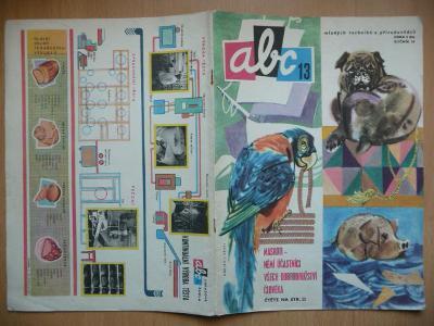 Časopis - ABC - 14. ročník z roku 1970 - číslo 13.