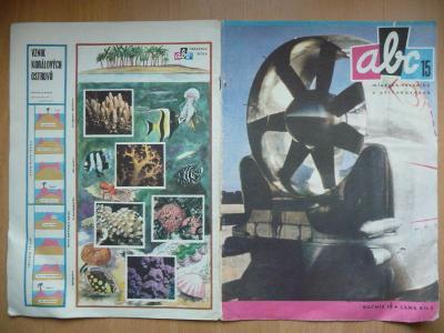 Časopis - ABC - 14. ročník z roku 1970 - číslo 15.