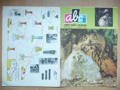 Časopis - ABC - 14. ročník z roku 1970 - číslo 17.