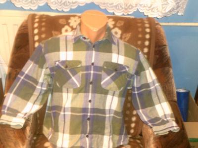 flanelová košile kostkatá  ESPRIT vel 140