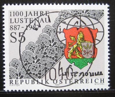 Rakousko 1987 Lustenau erb Mi# 1885 0751