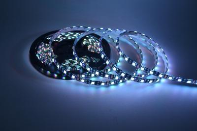 5m LED pásek 5050SMD černá DPS 12V červená