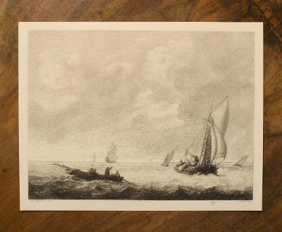 Moře - Lodě - C. E. Onken 1880 - (G762)