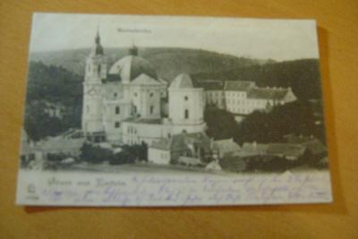 Křtiny-Brno venkov-poutní místo-1910