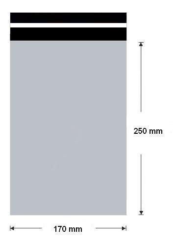 Plastová obalká 170x250 (10ks/balení)
