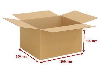 Kartonová krabice 200X200X100mm (25ks)