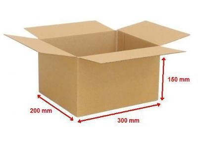 Kartonová krabice 300X200X150 (25ks)