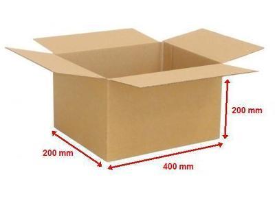 Kartonová krabice 400X200X200 (25ks)