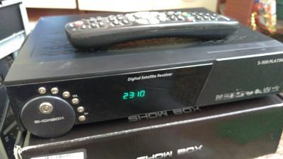 Digit.příjmač SHOW BOX S-300 PLATINUM 2ks