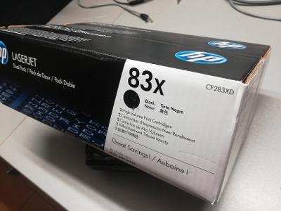prodám nové tonery HP CF283XD