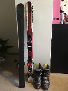 Dětské lyže a boty