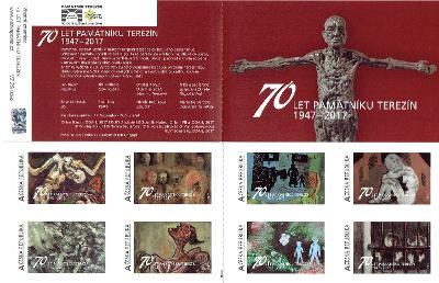 Vlastní známky známkový sešitek ZS 62 Terezín