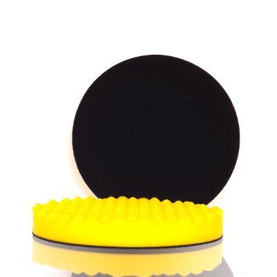 Leštící a brusný kotouč  | žlutý | 180 x 25 mm