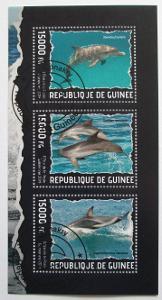 Guinea 2014 Delfíni Mi# 10267-69 Kat 18€ 0187