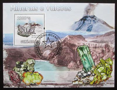 Guinea-Bissau 2009 Minerály Mi# Block 723 0221