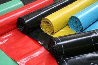 Pytel 70X100cm role LDPE, zatahovací, modrý (25ks)