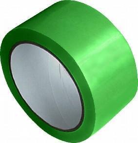 Lepicí páska PP zelená 48mm x 66m