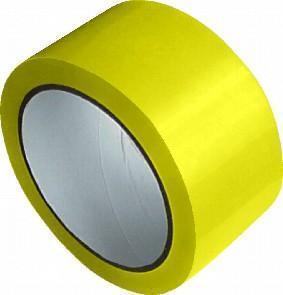 Lepicí páska PP žlutá 48mm x 66m