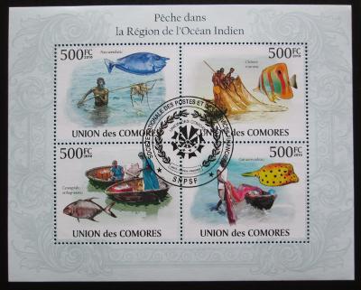 Komory 2009 Indický oceán Mi# 2686-89 0321