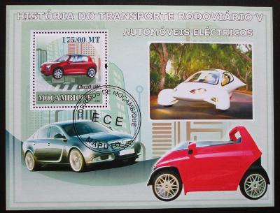 Mosambik 2009 Elektromobily Mi# Block 244 Kat 10€ 1576