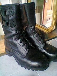 Vojenské  AČR ČSLA boty kanady vz 60 ne německé na jehličí mlok  č 9