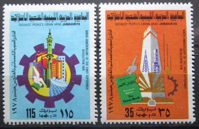 Libye 1978 Zářiová revoluce Mi# 656-57 0694