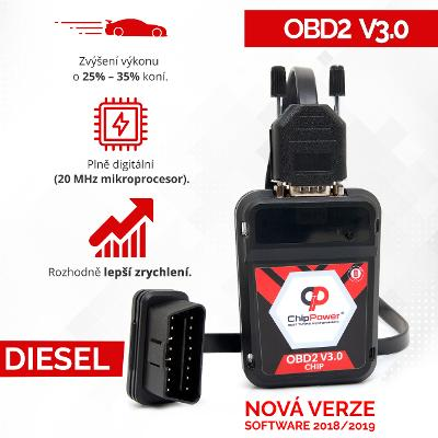 OBD2 CHIP TUNING BOX Fiat Stilo 1.9 JTD 85KW