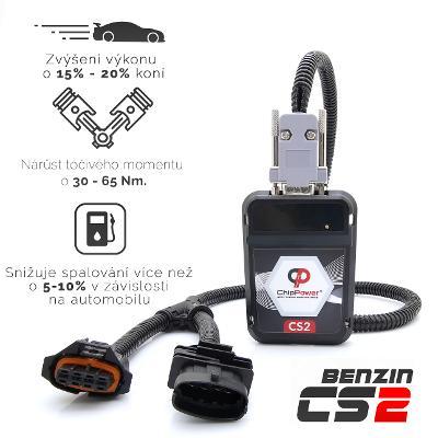 CHIP TUNING BOX FIAT 500 1.4 65kW Benzin CS2