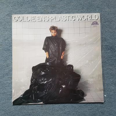 LP Plastic world/Goldie Ens