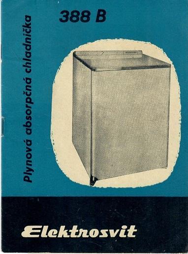 Elektrosvit Plynová absorpční chladn+ záruční list