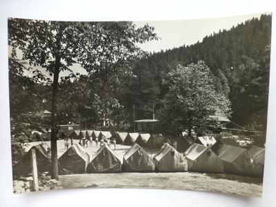 Bílá voda, Červená Voda, Králíky, Ústí nad Orlicí - Pionýrský  tábor