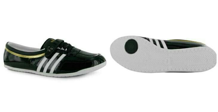 Dámské kožené baleríny, zn. Adidas vel. 43,5 | Aukro