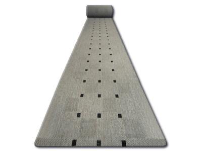 BEHOUN SISAL FLOORLUX 80 cm ploché tkaní stříbro *Q1363