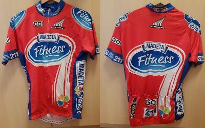 letní cyklistický dres - Madeta Fitness - vel. L