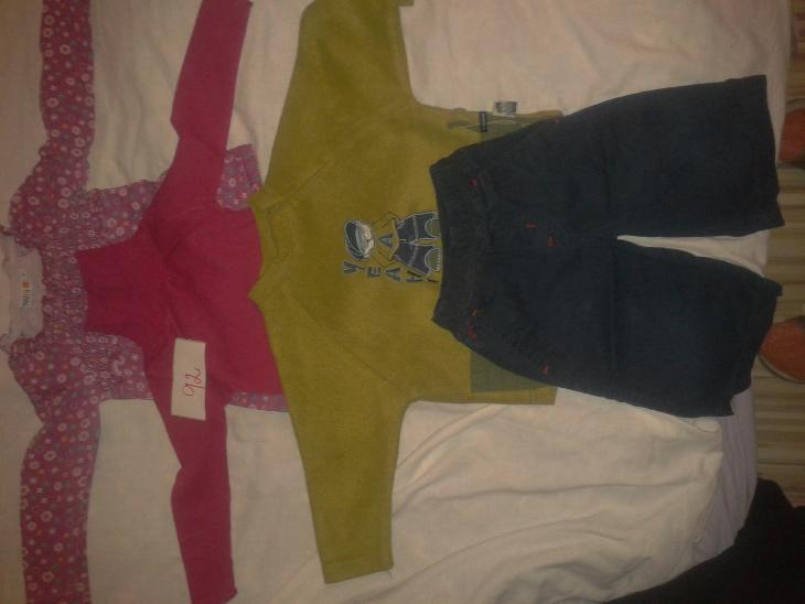 dívčí oblečení vel. 92 - Oblečení