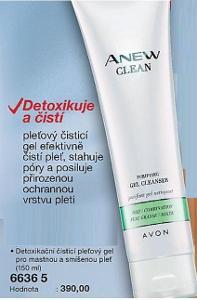 Anew Clean Detoxikační čistící gel