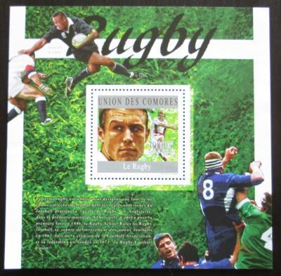Komory 2010 Rugby Mi# Block 589 Kat 15€ 0749