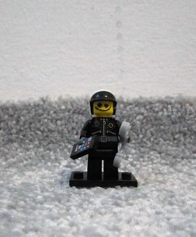 Lego Figurka serie Movie- Zlý policista