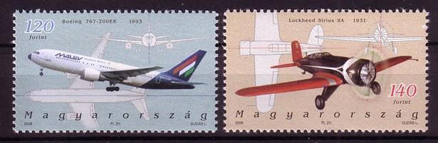 Maďarsko 2006, serie letadla, svěží