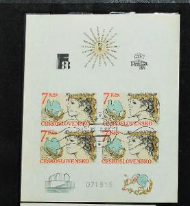 ČSSR 10. VÝROČÍ HELSINSKÉ KONFERENCE PRAGA 1988
