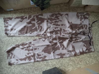 Nové pracovní kalhoty vz.95 pouštní vel.54 ačr
