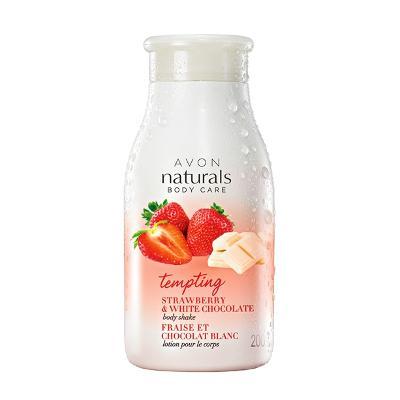 Avon,Tělové mléko s jahodou a čokoládou