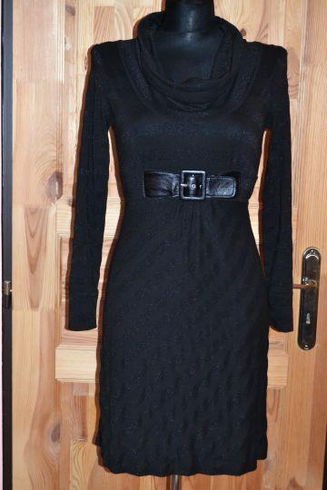 Krásné černé pouzdrové šaty South 3e56f8b06f
