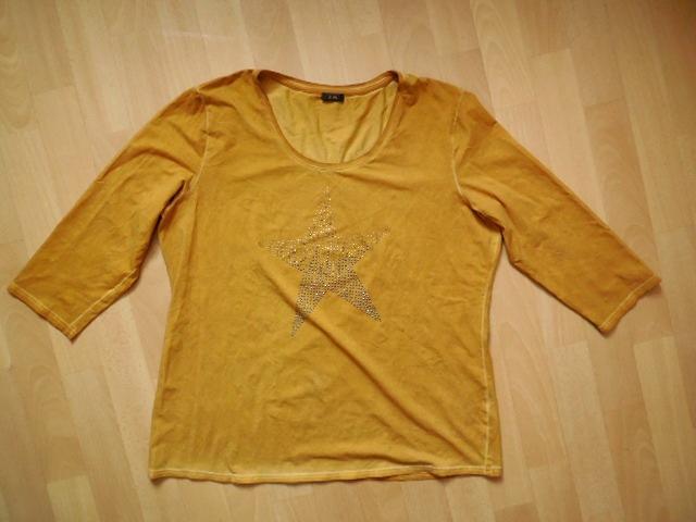 dámské G.W. pískově žluté tričko 428cf3f244